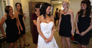 Get ready in your Private Bridal Dressing Suite