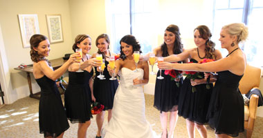 Private Bridal Dressing Suite for your Bridal Party