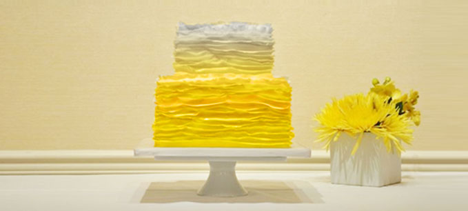 San Diego Bakery Ombre Cake