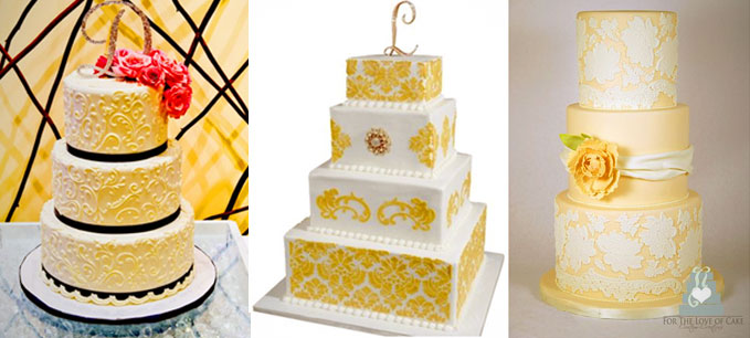 Pattern Cakes by San Diego Bakeries