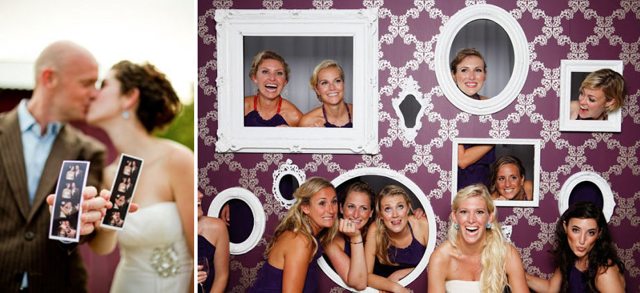 Photobooth at your Oceanside Wedding Reception